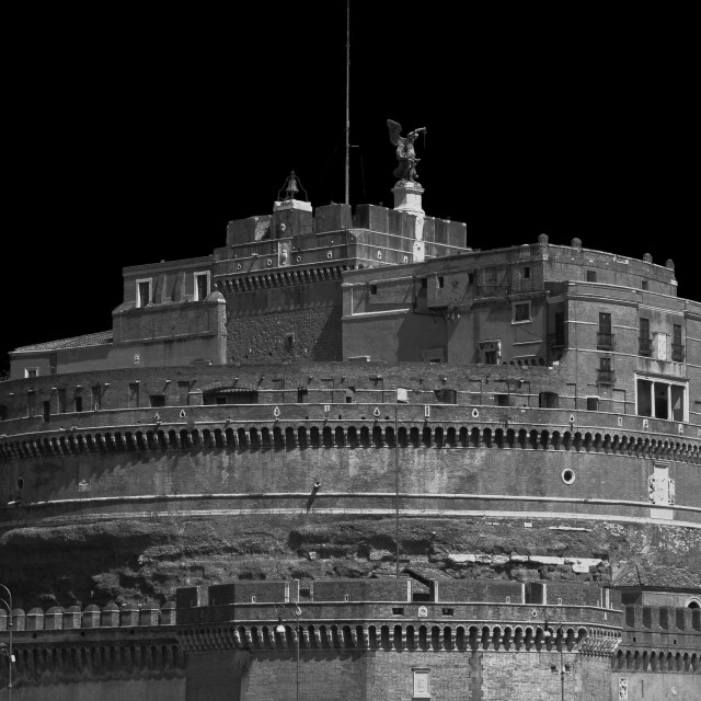 """Castel Sant'Angelo, Rome"" stock image"