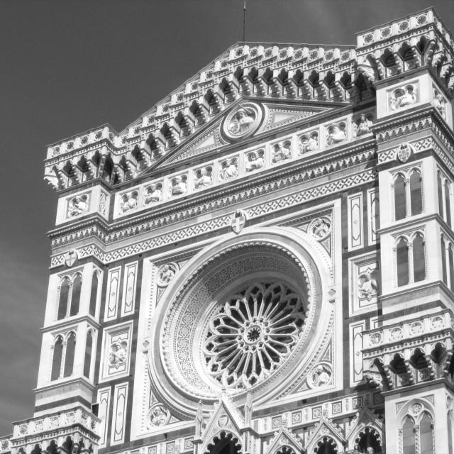 """The Duomo, Florence"" stock image"