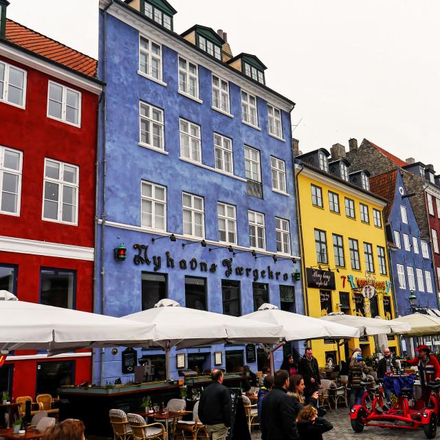 """Nyhavn"" stock image"