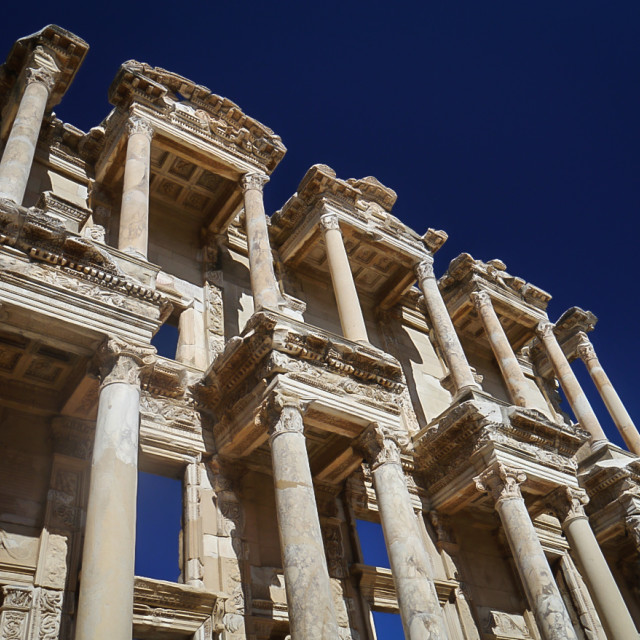 """Library of Celsus, Ephesus"" stock image"
