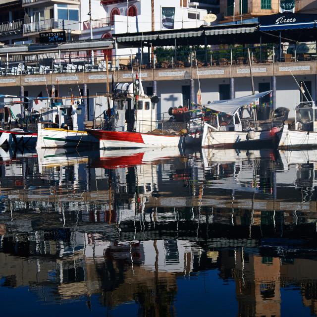 """Marina, Porto Cristo"" stock image"