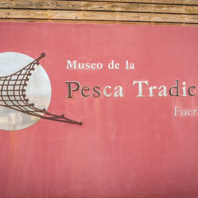 """Fishing Museum, El Cotillo"" stock image"