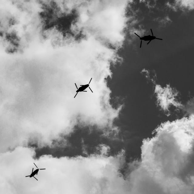 """""""Chopper Trio"""" stock image"""