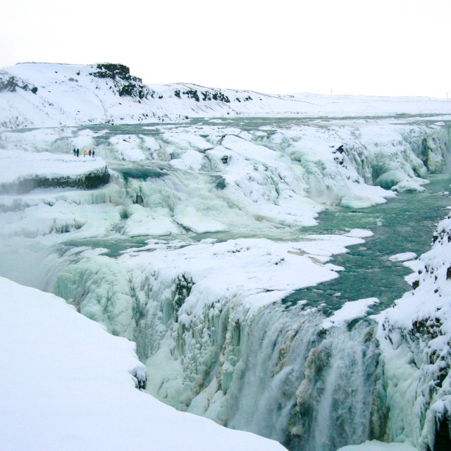 """Gullfoss Waterfall Iceland"" stock image"