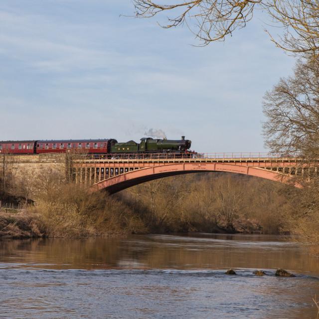 """GWR No.2857"" stock image"