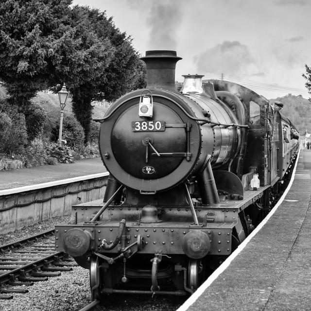 """GWR No.3850"" stock image"