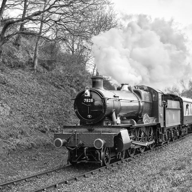 """GWR No.7828 Odney Manor"" stock image"