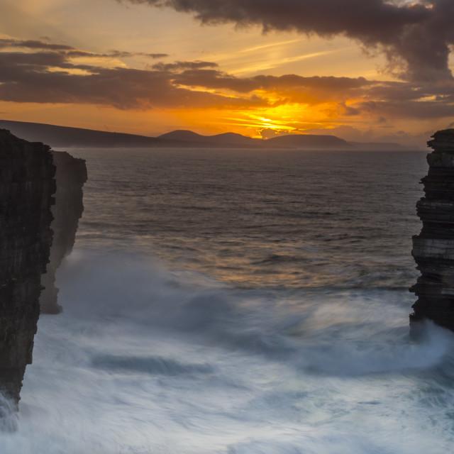 """Sea Cliffs."" stock image"