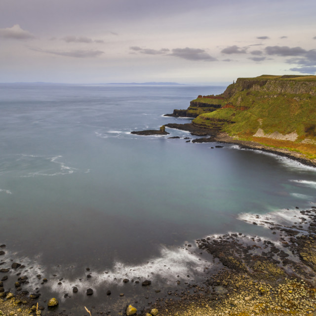 """The Giants Causeway"" stock image"