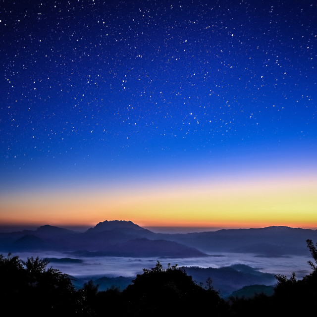 """Huay Nam Dang   Dawn of the Light"" stock image"