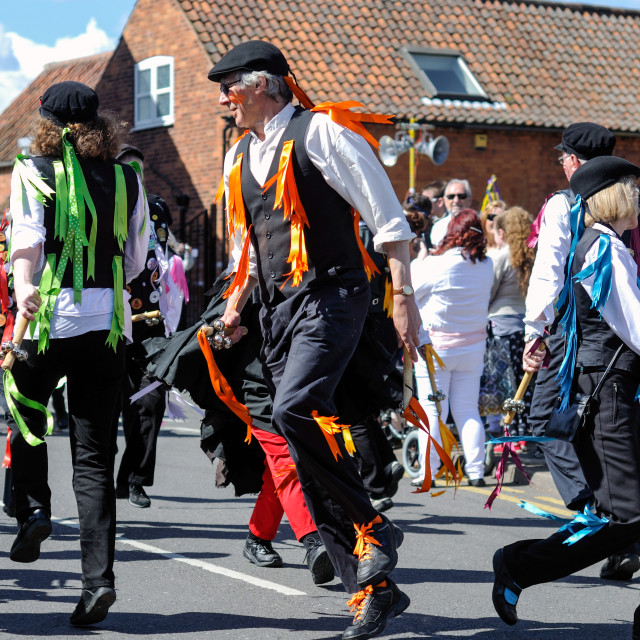 """Morris Dancer"" stock image"