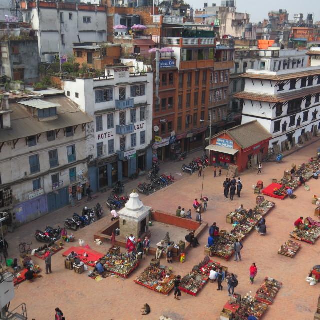 """Durbar Square, Kathmandu"" stock image"