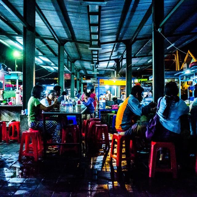 """Balinese Market"" stock image"