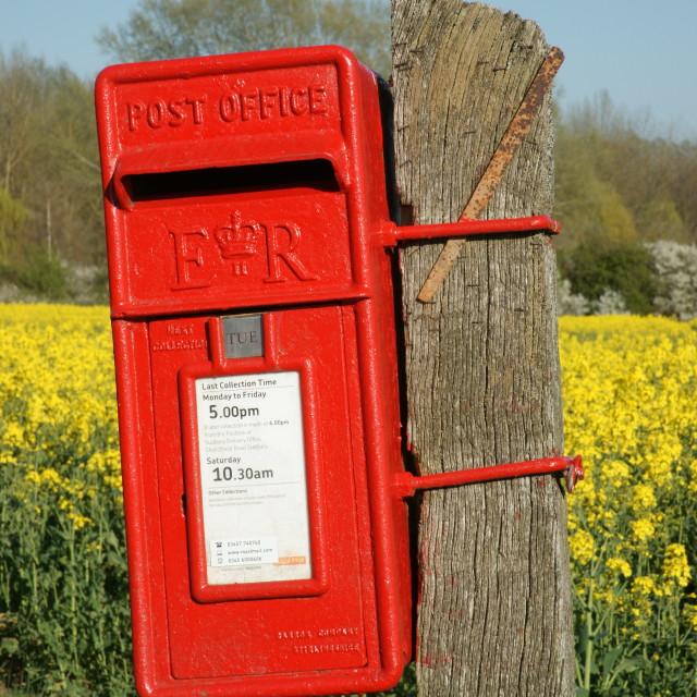 """Post Box"" stock image"