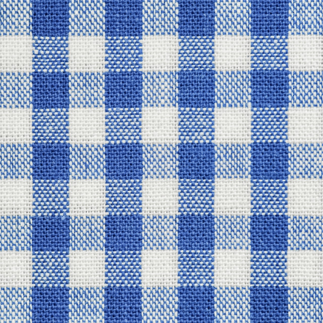 """blue checked fabric"" stock image"