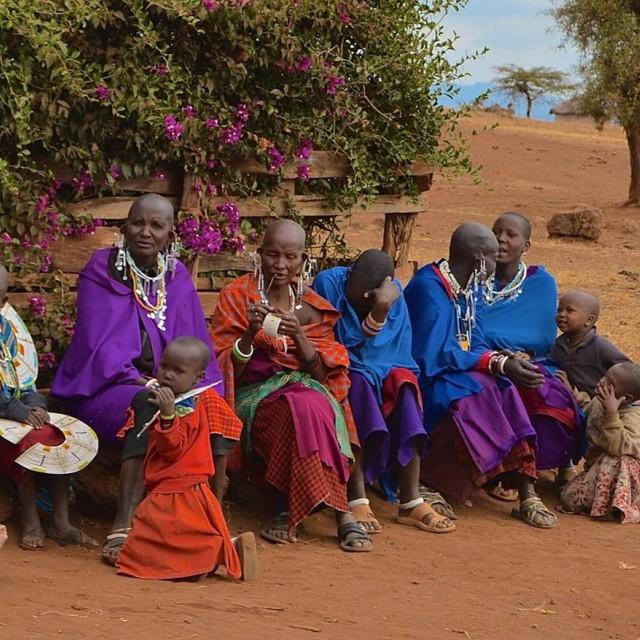 """Tanzania Tribe"" stock image"