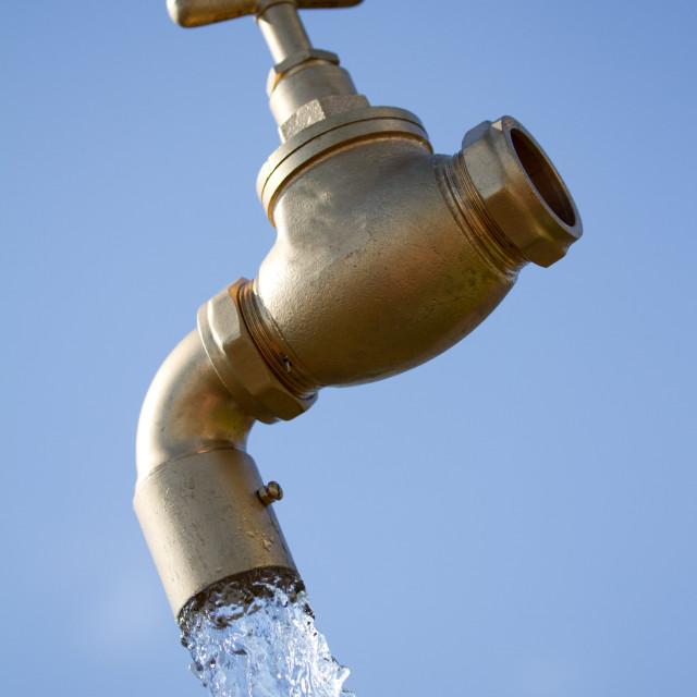 """Water tap"" stock image"