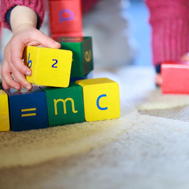 """Building blocks"" stock image"