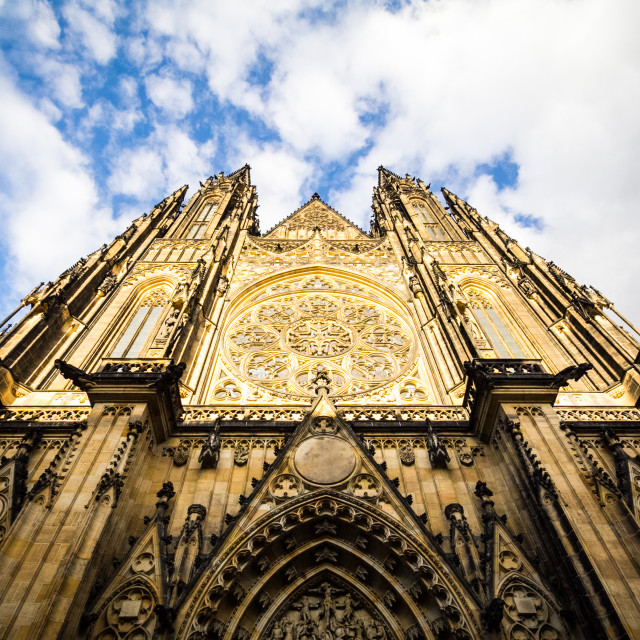 """Saint Vitus Cathedral Prague"" stock image"