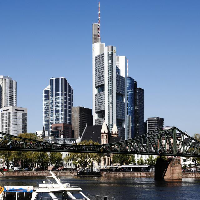 """Frankfurt 25"" stock image"