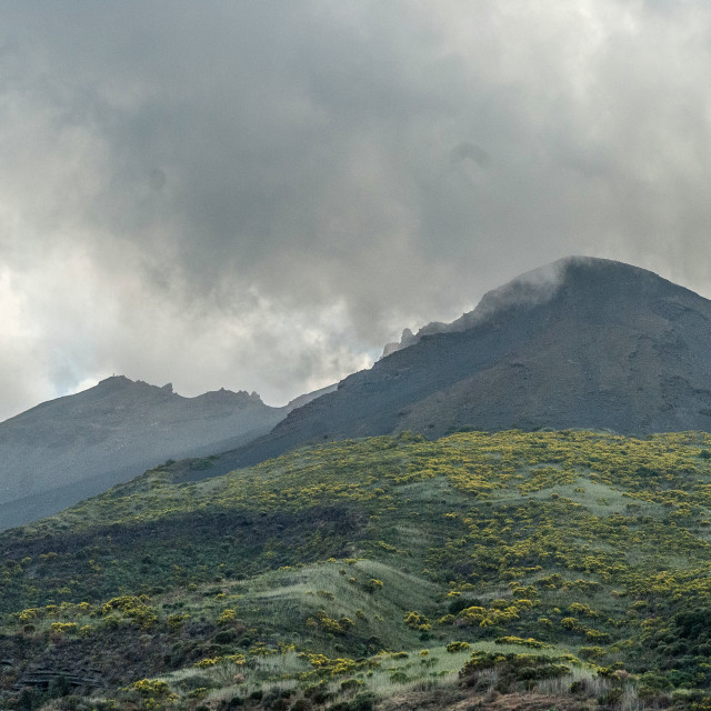 """Mount Etna"" stock image"
