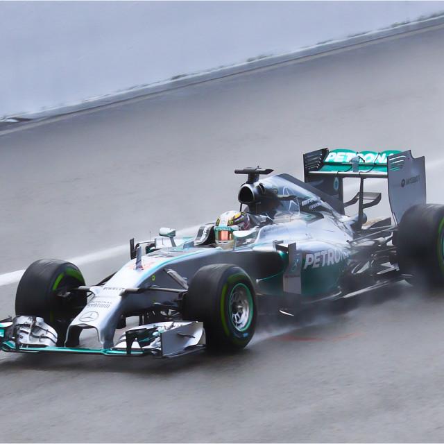 """""""Lewis Hamilton"""" stock image"""