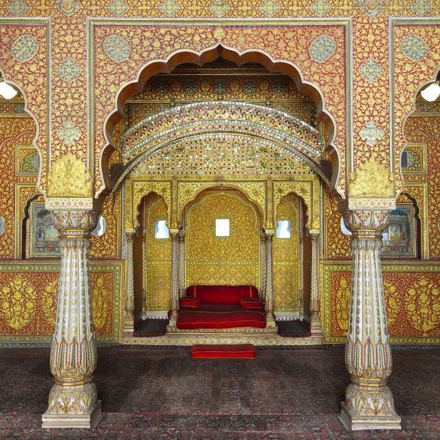 """Junagarh Fort in Bikaner, India"" stock image"