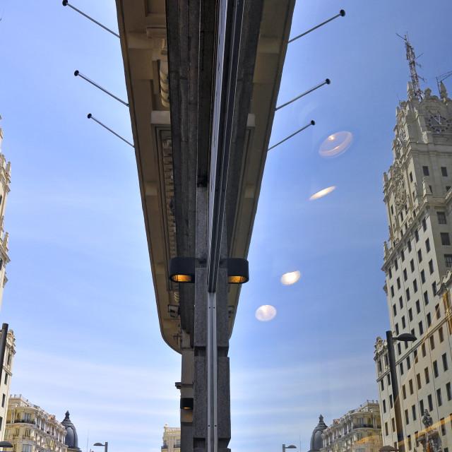 """Telefonica building, Madrid, Spain"" stock image"