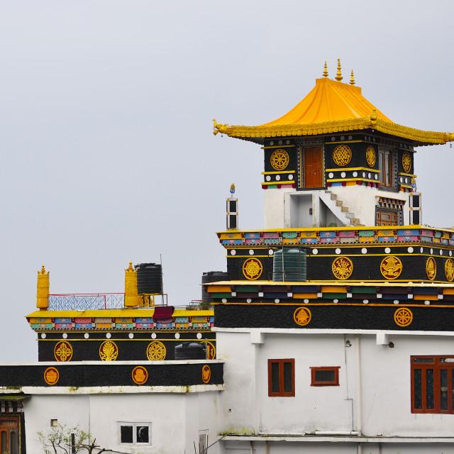 """""""Tibetan monastery"""" stock image"""