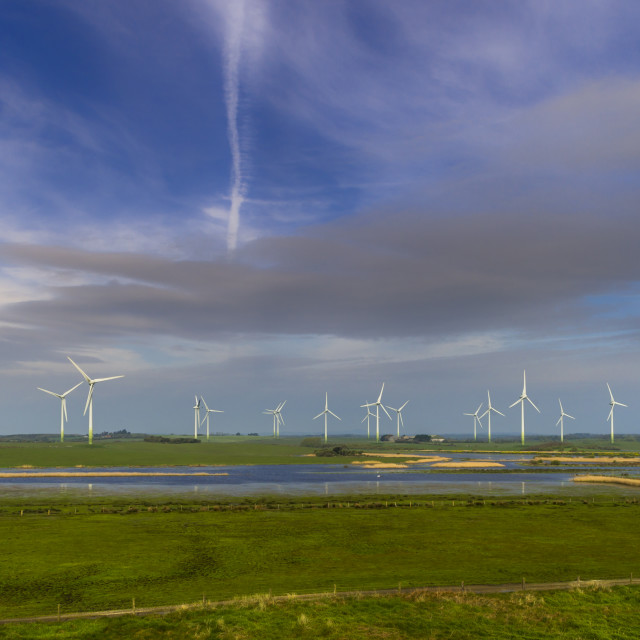"""Wind Farm."" stock image"