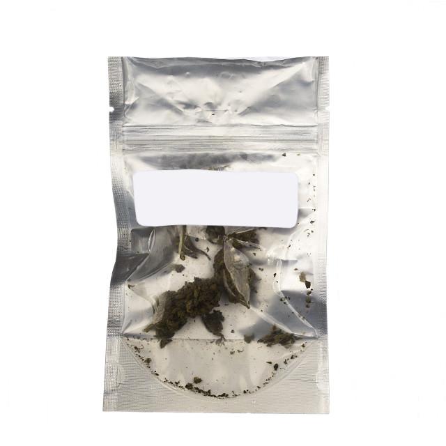 """Medical Marijuana - 1 package"" stock image"
