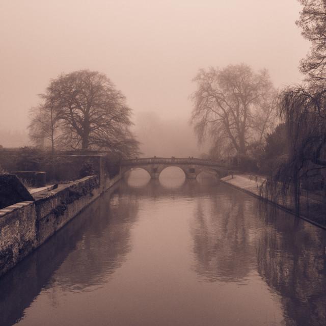 """""""Monochrome Bridge"""" stock image"""