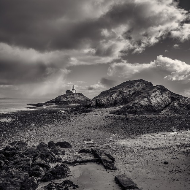 """mumbles in mono"" stock image"