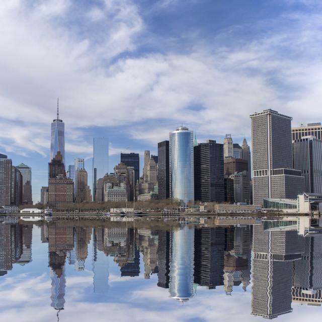 """Lower Manhattan, NYC"" stock image"