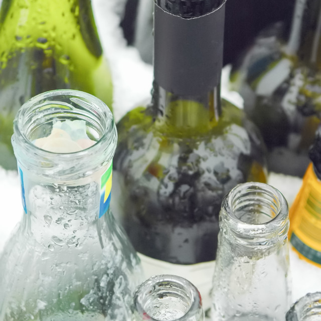 """""""glass recycling"""" stock image"""