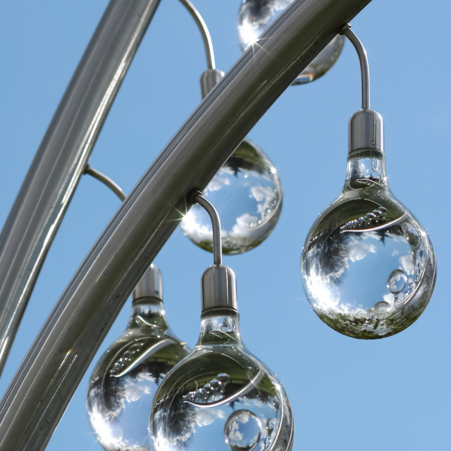 """glass spheres"" stock image"