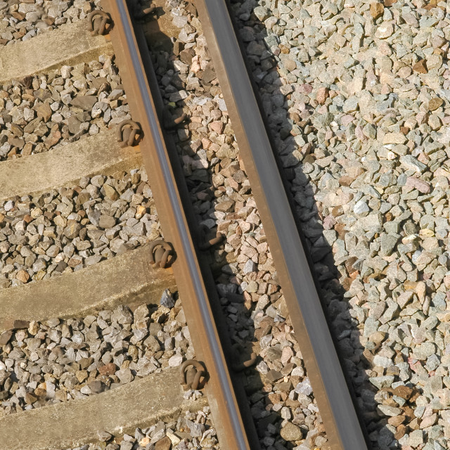 """railroad track"" stock image"