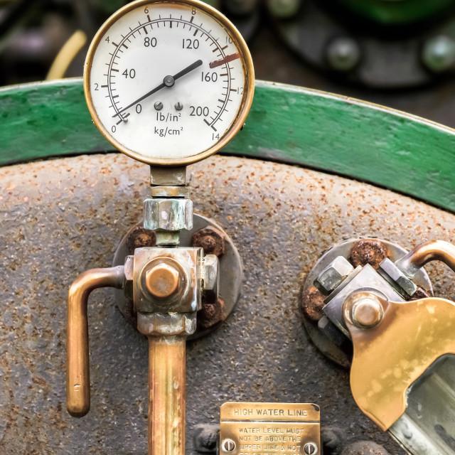 """pressure gauge"" stock image"