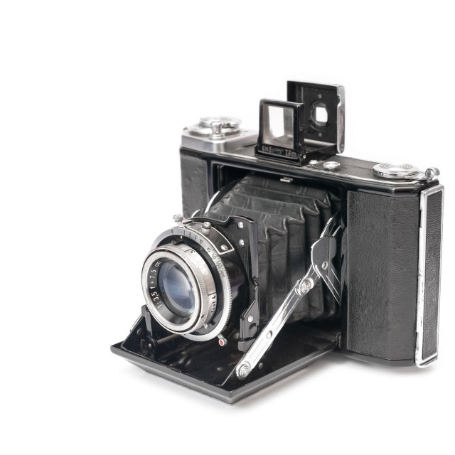 """vintage bellows camera"" stock image"
