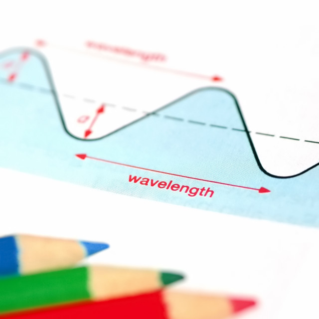 """wavelength"" stock image"