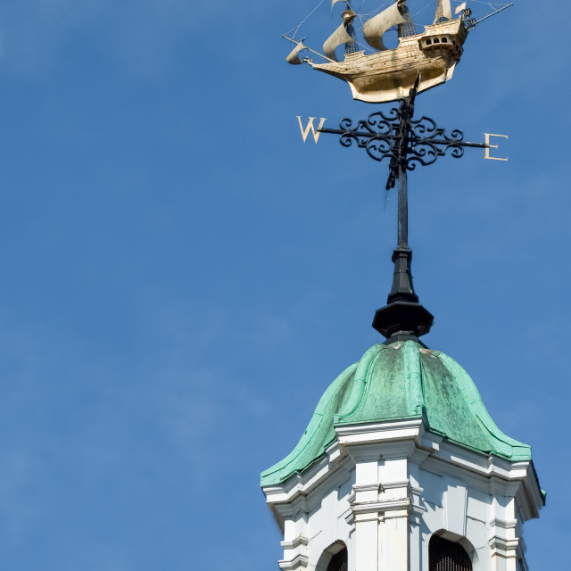 """ornate weather vane"" stock image"