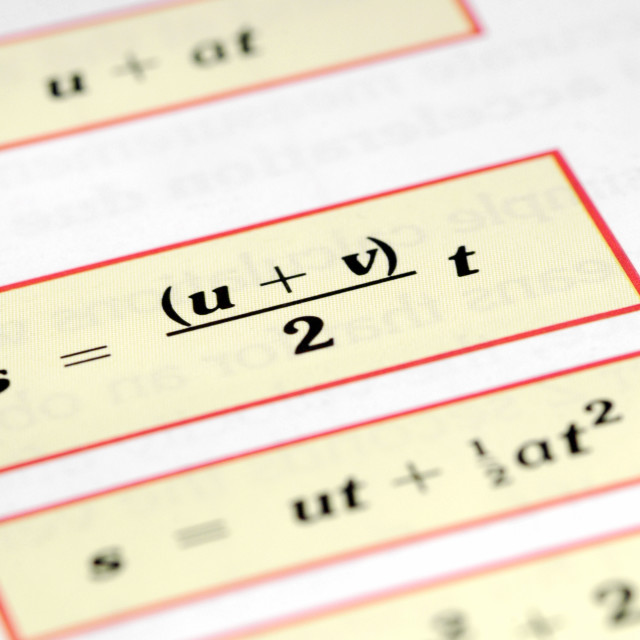 """""""equations"""" stock image"""