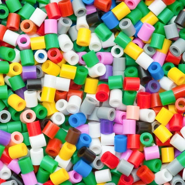 """colored plastic beads"" stock image"