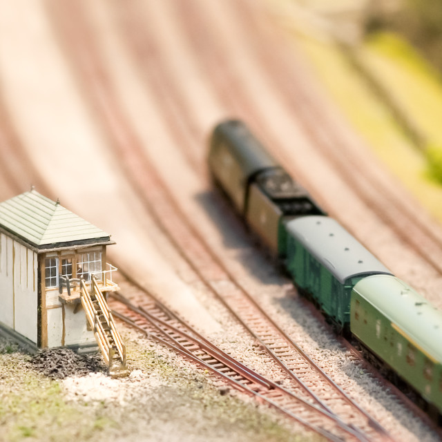 """model signal box"" stock image"