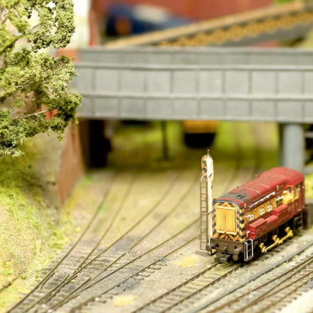 """model train detail"" stock image"