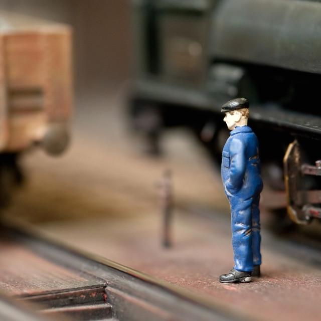 """train engineer"" stock image"