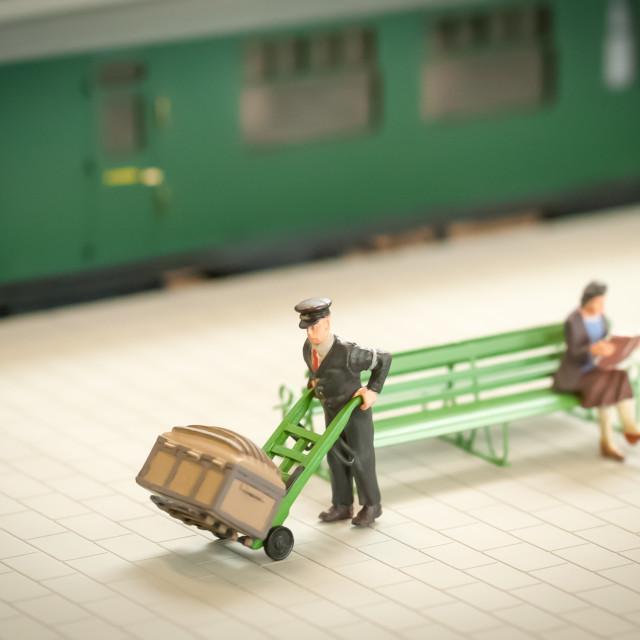 """station porter"" stock image"