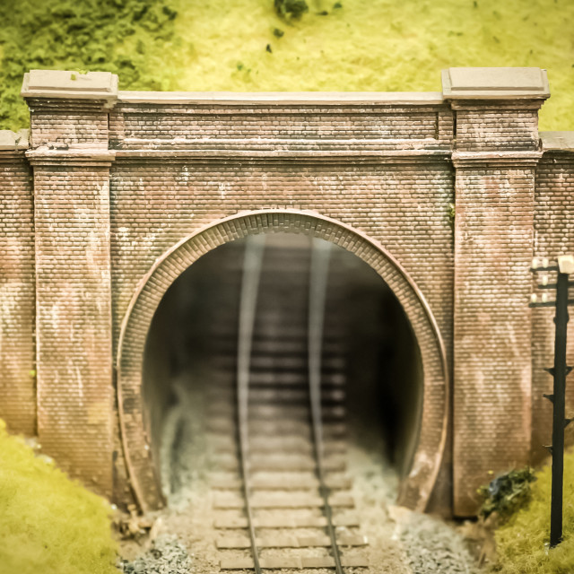 """model railway bridge"" stock image"