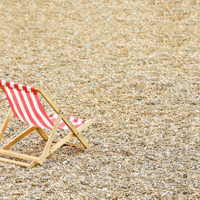 """deck chair"" stock image"