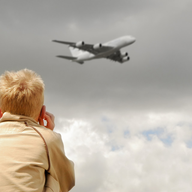 """aircraft noise"" stock image"